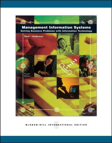 9780071257329: Management Information Systems
