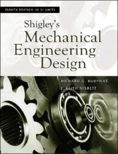 9780071257633: Shigley's Mechancial Engineering Design (SI units)