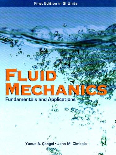 9780071257640: Fluid Mechanics: Fundamentals and Applications