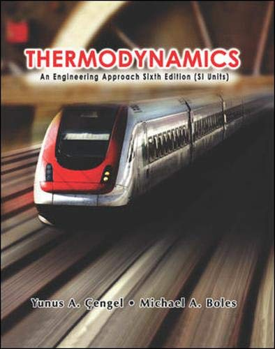 9780071257718: Thermodynamics (SI units): An Engineering Approach