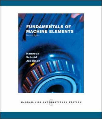 9780071257947: Fundamentals of Machine Elements(2nd edition)