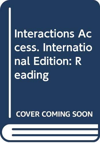 9780071258166: Interactions Access. International Edition: Reading