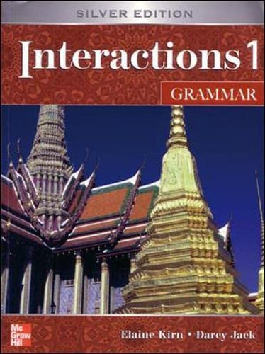9780071258173: Interactions One: Student Book: Grammar