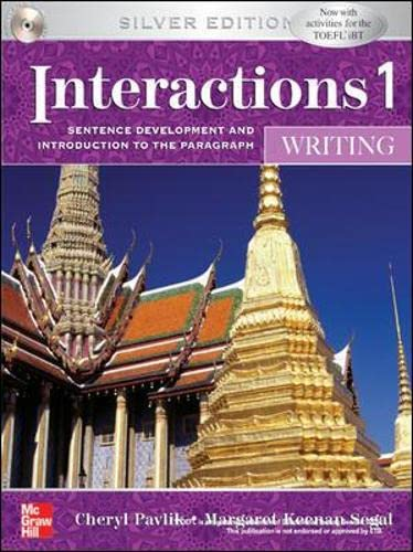 9780071258296: Interactions One: Writing (College Ie (Reprints))