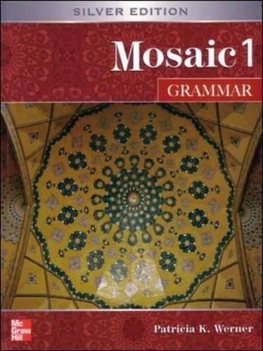 9780071258333: Mosaic One: Student Book: Grammar