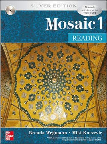 9780071258425: Interactions Mosaic Reading Student Book with Audio CD: Mosaic 1