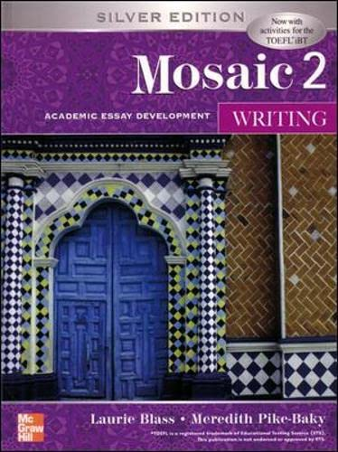 9780071258470: Mosaic Two: Student Book: Writing