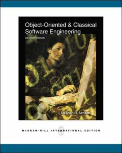 9780071258494: Object-Oriented and Classical Software Engineering