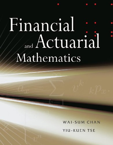 9780071258562: Financial and Actuarial Mathematics
