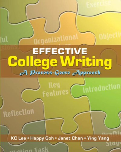 9780071258586: Effective College Writing: A Process-Genre Approach