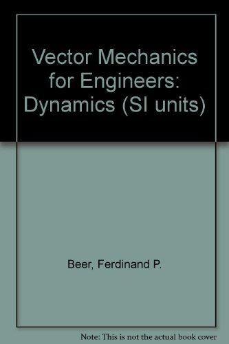 9780071258753: Vector Mechanics for Engineers: Dynamics (SI units)