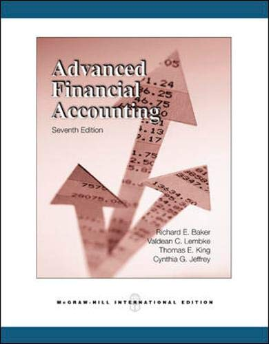 9780071259132: Advanced Financial Accounting