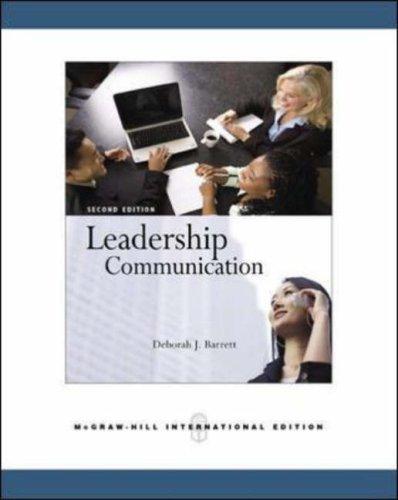 9780071259149: Leadership Communication