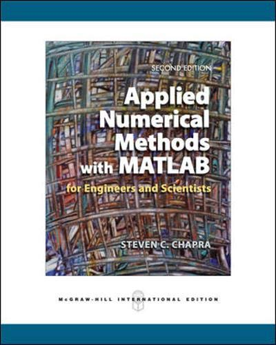 9780071259217: Applied Numerical Methods with MATLAB for Engineers and Scientists