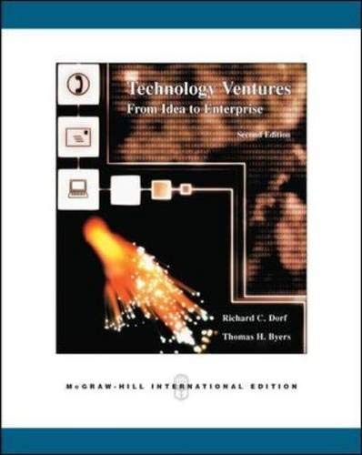 9780071259231: Technology Ventures: From Idea to Enterprise
