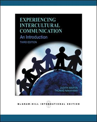 9780071259316: Experiencing Intercultural Communication: An Introduction