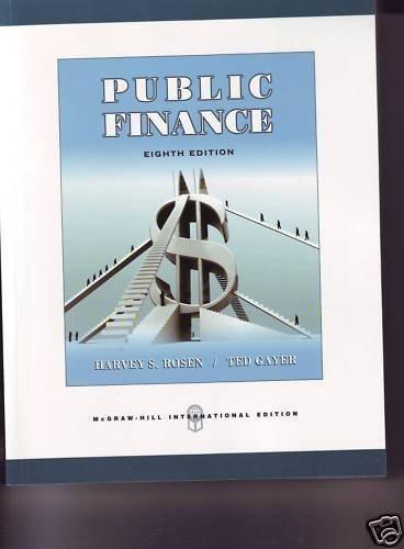 9780071259392: Public Finance