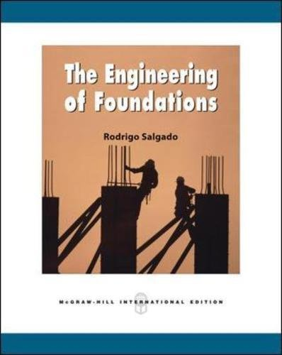 9780071259408: The Engineering of Foundations (Int'l Ed)
