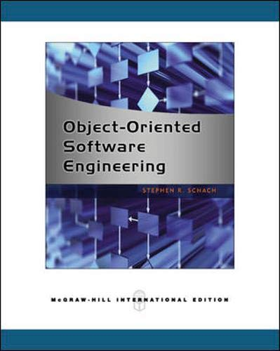 9780071259415: Object-Oriented Software Engineering