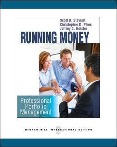 9780071259453: Running Money: Professional Portfolio Management