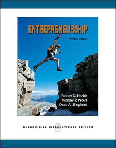 9780071259521: Entrepreneurship