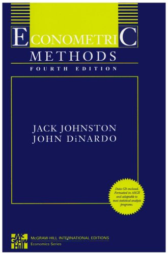 9780071259644: Econometric Methods