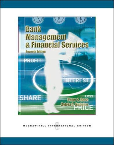 9780071259675: Bank Management and Financial Services