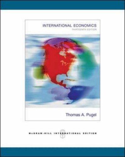 9780071259774: International Economics