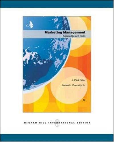 9780071259835: Marketing Management