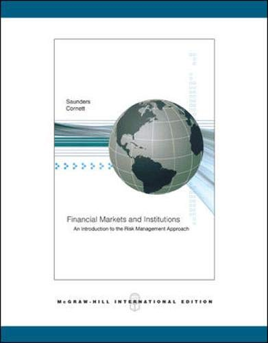 9780071259859: Financial Markets and Institutions: WITH S&P Card AND Ethics in Finance Powerweb