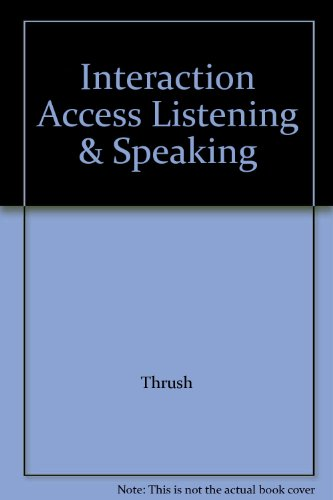 9780071260091: Interaction Access Listening & Speaking