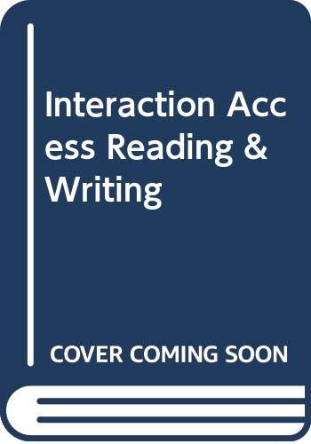 9780071260107: Interaction Access Reading & Writing