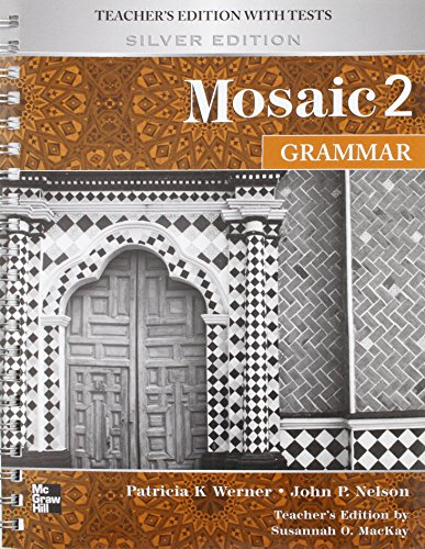 9780071260244: Mosaic 2 Grammar Teachers Edition Silver