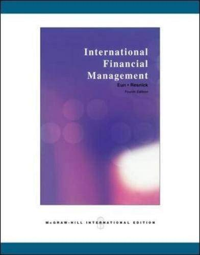 9780071260442: International Financial Management