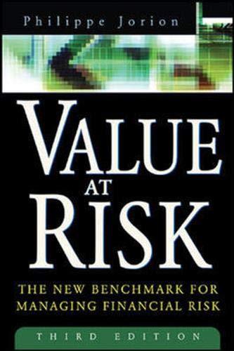 9780071260473: Value At Risk 3E