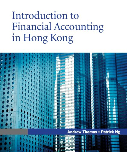 9780071260848: Introduction to Financial Accounting in Hong Kong