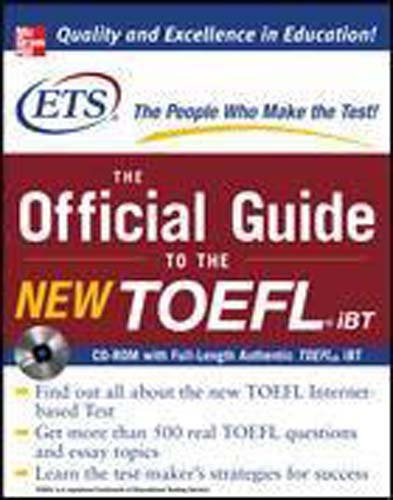 9780071261098: The Official Guide to the New TOEFL iBT with CD-ROM by Educational Testing Service