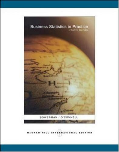 9780071261180: Business Statistics in Practice with Student CD
