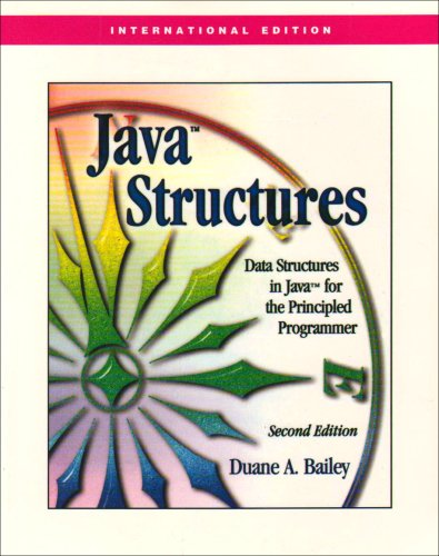 9780071261203: Java Structures: Data Structures in Java for the Principled Programmer