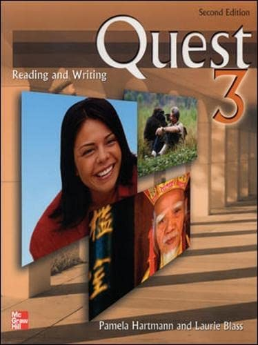 9780071261340: Quest: Reading and Writing Student Book: Bk. 3