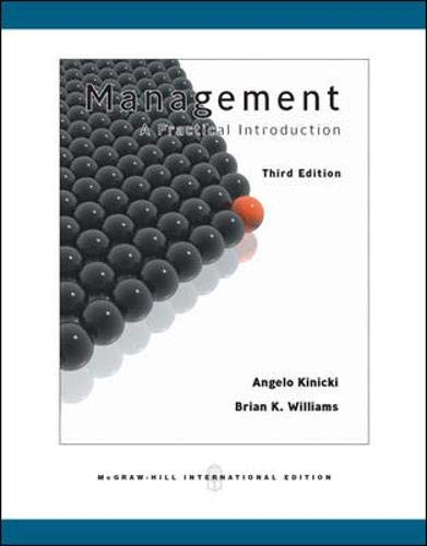 9780071263122: Management - International Edition