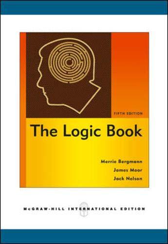 9780071263238: The Logic Book