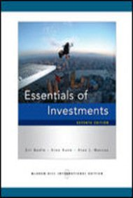 Essentials Of Investments: Zvi Bodie