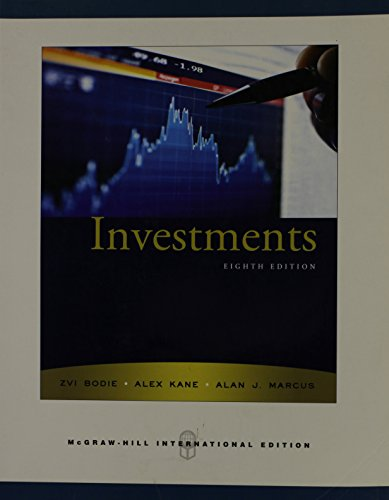 9780071263252: Investments 8th Edition
