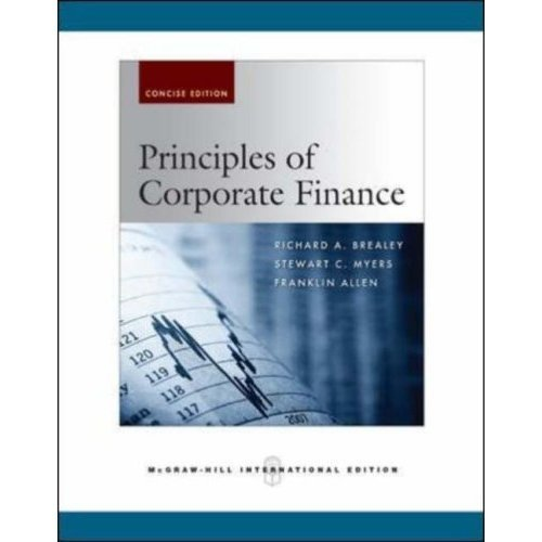 9780071263269: Principles of Corporate Finance, Brief