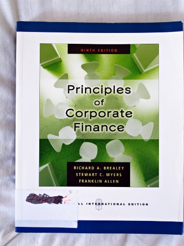 9780071263276: Principles of Corporate Finance