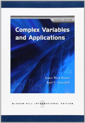 9780071263283: Complex Variables and Applications
