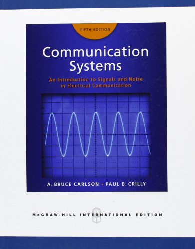 9780071263320: Communication systems