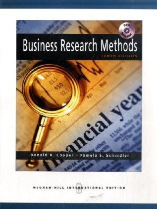 9780071263337: Business Research Methods with Student DVD