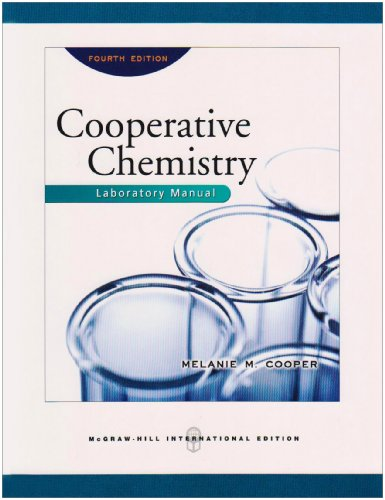 9780071263344: Cooperative Chemistry Lab Manual